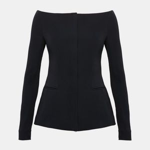 Theory off the shoulder jacket, NWT retails: $475